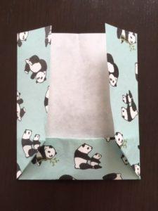折り紙のポチ袋 作り方手順4