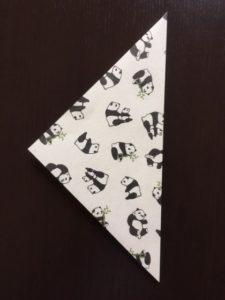折り紙のポチ袋の作り方 手順1