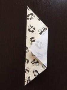 折り紙のポチ袋の作り方 手順4