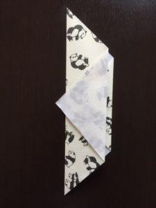 折り紙のポチ袋の作り方 手順5