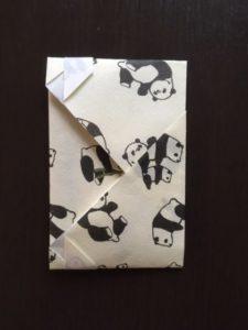 折り紙のポチ袋の作り方 手順9