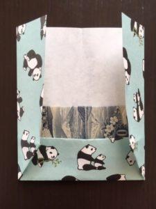 折り紙のポチ袋 作り方手順5
