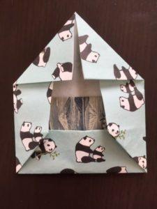 折り紙のポチ袋 作り方手順6