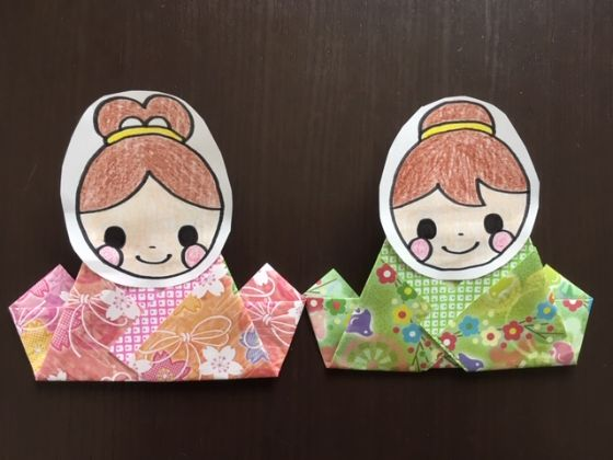 折り紙 簡単 織姫 と 彦星